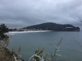 Neve sulla spiaggia di Serapo