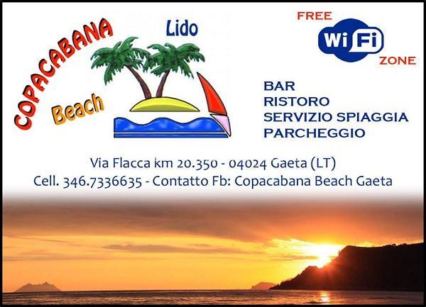 lido copacabana spiaggia s.agostino gaeta