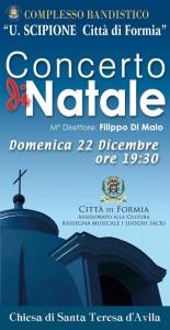 Concerto di Natale - Locandina