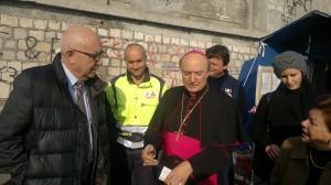 sindaco arcivescovo e assessore Talamas