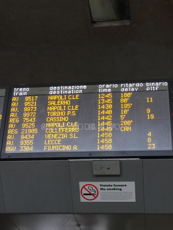 Maltempo, Trenitalia rimborsa i biglietti regionali non utilizzati