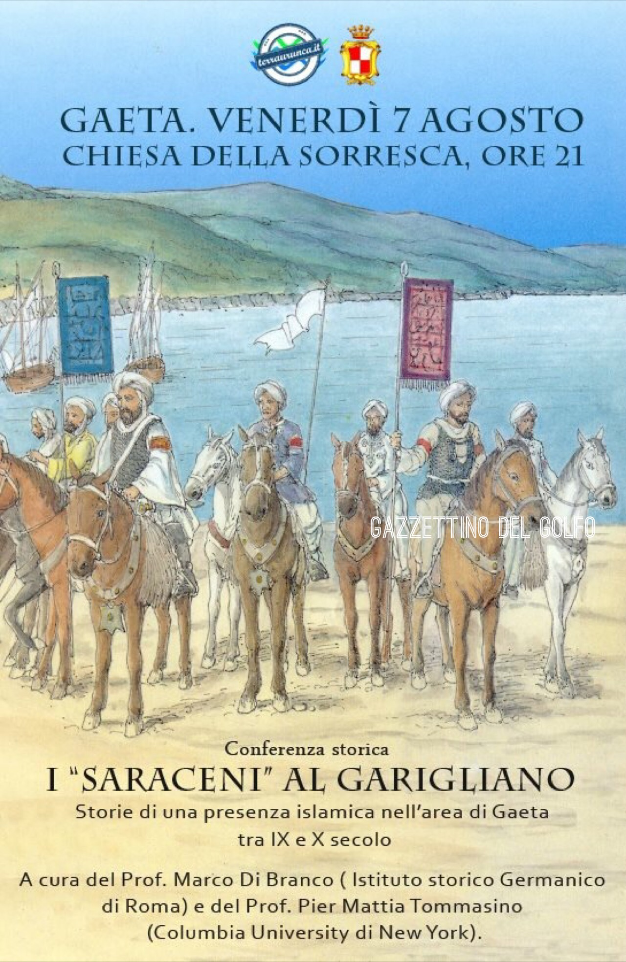 gaeta muslim The first consul of gaeta, constantine, who associated his son marinus with him, was a byzantine agent and a vassal of andrew ii of naples constantine defended the city from the ravages of muslim pirates and fortified it, building outlying castles as well.