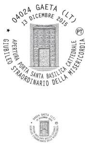 Annullo Porta Santa Gaeta 2015