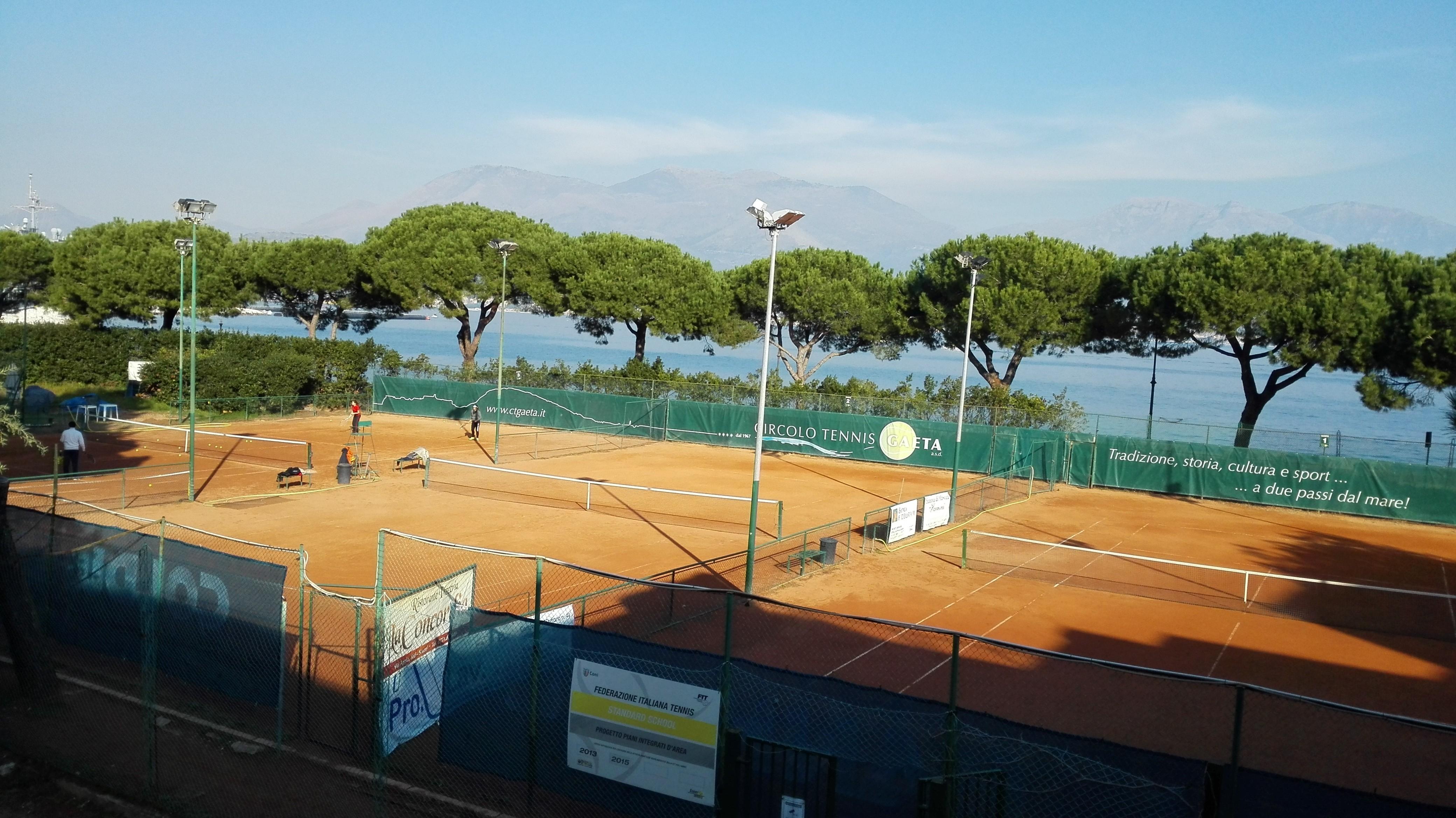 Tennis, il CT Gaeta supera per 5-1 il Davis 76