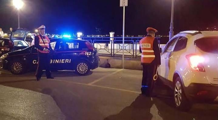 Gaeta, servizi di controllo del territorio: Tre denunce per tasso alcolemico elevato