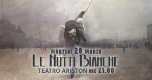 """""""Le notti bianche"""": a Gaeta Francesco Azzari al Teatro Ariston"""