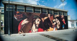 Gaeta, ecco la straordinaria opera dello street artist Ravo (#fotogallery)