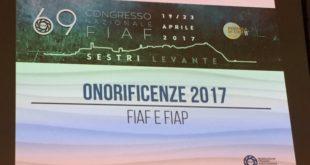"""Congresso Nazionale FIAF: """"Benemerito della Fotografia Italiana"""" a Paolo Di Tucci"""