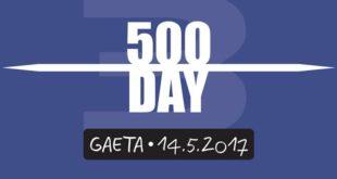Mamma portami al 500 DAY, il 14 maggio a Gaeta