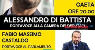 Gaeta, Di Battista e Giarrusso a supporto della candidata sindaco Vallucci