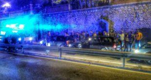 Formia: incidente in Via Unità d'Italia, traffico in tilt per ore. VIDEO