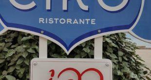 """Cerimonia di consegna della targa al Presidente dell'Unione Pizzerie Storiche Napoletane – """"Le Centenarie"""""""