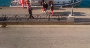 Malore sul traghetto Ponza-Formia. Trasbordo a terra per un passeggero colto da principio di infarto