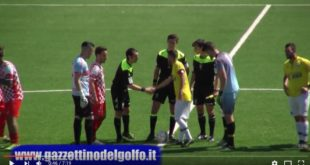 Calcio, per Gaeta e Itri la salvezza passa dai play-out. Highlights del Derby del Riciniello (#video)
