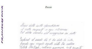 """""""Transgredior"""", domenica all'Archivio Storico la presentazione dell'esordio poetico di Gianluca De Lucia"""