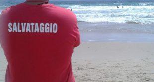 Serapo:oggi bandiera rossa! Salvataggio in mare nei pressi del lido Militare