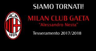 Riapre a Gaeta lo storico Milan Club