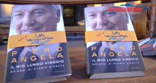 Libri sulla cresta dell'onda: Piero Angela a Gaeta (#video)