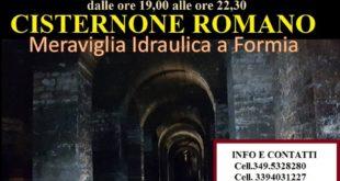 """Il """"Cisternone Romano"""" di Formia aperto per tutto il mese di Agosto"""