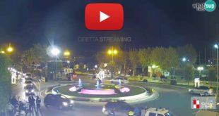 Luminarie Gaeta, segui in diretta streaming lo spettacolo della Fontana di S. Francesco