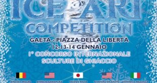 World Ice Art Competition a Gaeta:  Inizia il count down