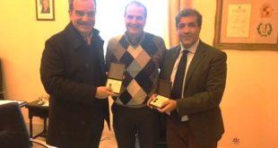 Il Sindaco Mitrano riceve l'Ambasciatore italiano in Venezuela Silvio Mignano e l'On. Luis Stefanelli dell'Assemblea Nazionale del Venezuela