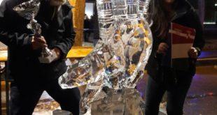 Gaeta, Shintaro Okamoto (USA) vince il World Ice Art Competition. (#video-#foto)