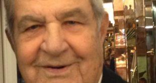 Gaeta, morto il senatore Erasmo Magliozzi