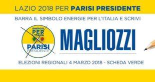 Programma elezioni regionali Parisi/Magliozzi