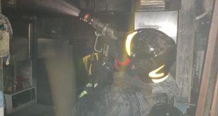 Gaeta, incendio nella cucina del ristorante: cause accidentali