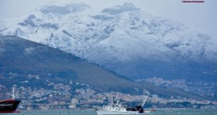 Arriva la neve sul Golfo di Gaeta: fiocchi attesi già da questa notte. **Meteo in diretta**