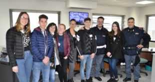 Formia, progetto alternanza scuola-lavoro:  La Polizia apre le porte agli studenti del Liceo Pollione Cicerone