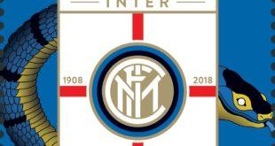 Centodieci anni di storia: San Marino celebra l'Inter con un francobollo