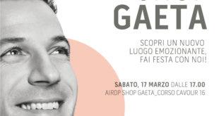 Gaeta, arriva in Corso Cavour 16, il nuovo shop del Brand AirDP Style