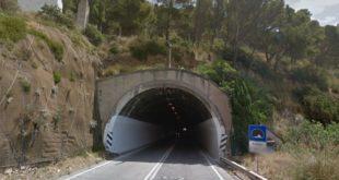 Viabilità sulla Flacca: da lunedì 19 lavori nelle gallerie tra Gaeta e Sperlonga