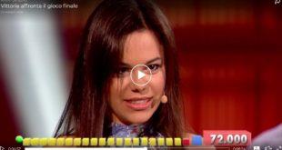 Vittoria di Formia vince 30mila euro ad 'Avanti un Altro': IL VIDEO