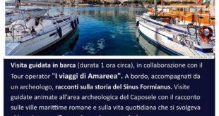 La Storia d'aMare: Un suggestivo e inedito itinerario alla scoperta del Sinus Formianus e della sua Storia