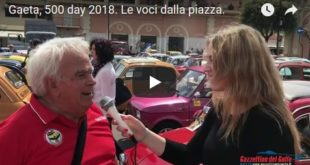 Gaeta, 500 Day: le voci dalla piazza [Video]