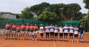 Tennis, bottino pieno a Cesena per il CT Gaeta