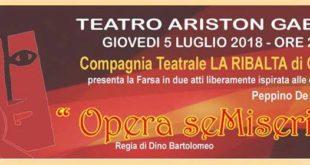 Opera seMiseria – Omaggio al Teatro di Peppino De Filippo