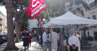 Mobilitazione del Partito Comunista contro Acqualatina e per la ripubblicizzazione dell'acqua