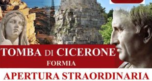 Formia, apertura straordinaria della Tomba di Cicerone