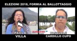 Formia 2018, Pasquale Cardillo Cupo e Paola Villa a confronto (#VIDEO)