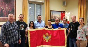 Montenegrini nei luoghi della Storia, l'accoglienza in Comune