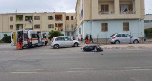 Gaeta: Auto contro scooter sulla Flacca. Ferito centauro