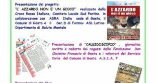 A Gaeta la Giornata informativa sulle iniziative sociali