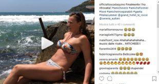 """Serena Autieri e Tosca D'Aquino si """"ritrovano"""" al mare a Gaeta"""
