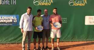 Tennis, Mirko Cutuli domina a Gaeta