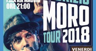 """Arena Virgilio Gaeta: Fabrizio Moro in """"Tour 2018"""""""