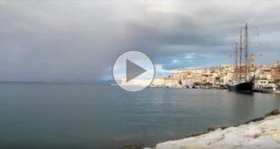 Ferragosto 2018, maltempo nel Golfo di Gaeta (#video)